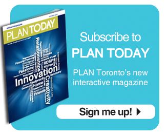 Register for PLAN Today, PLAN Toronto's new interactive magazine